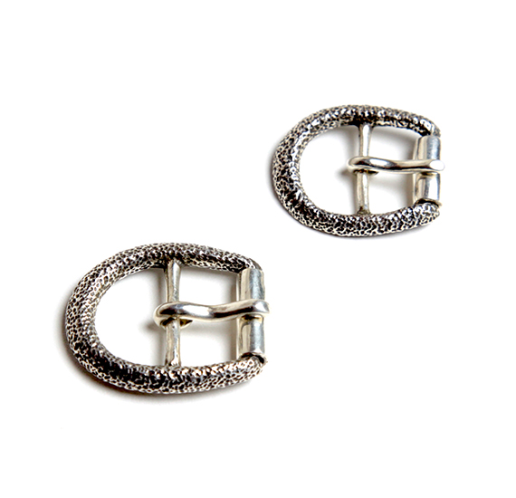 HORSE SHOE BUCKLE SILVER
